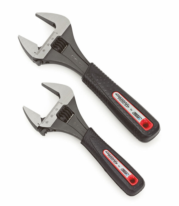"Nerrad Extra Wide Irega Adjustable Wrench 8"" 200mm"